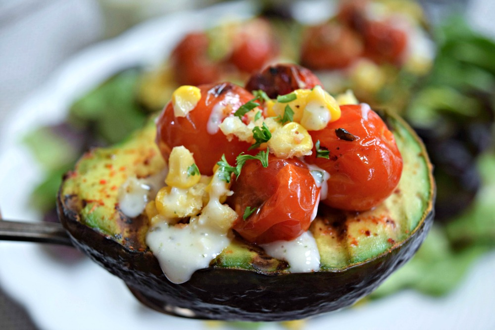 Grilled Avocado Boats
