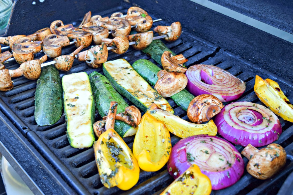 Variety Grilled Vegetable