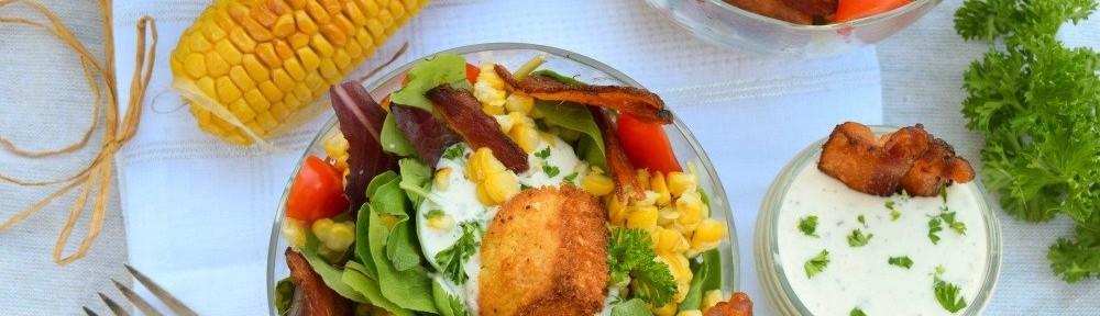 Bacon Cornbread Panzanella Salad