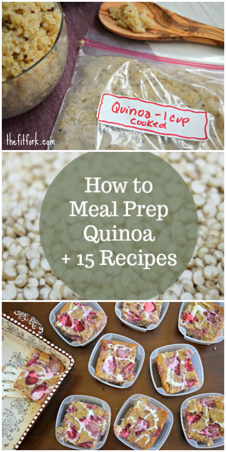 How To Meal Prep Quinoa + 15 Recipes  Keep Breakfast, Lunch, Dinner And