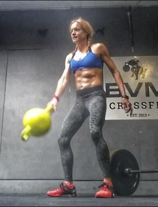 Jennifer Fisher Kamagon Ball crossfit