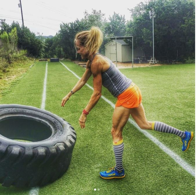 Jennifer Fisher Athlete Inside Designer Protein tire flip