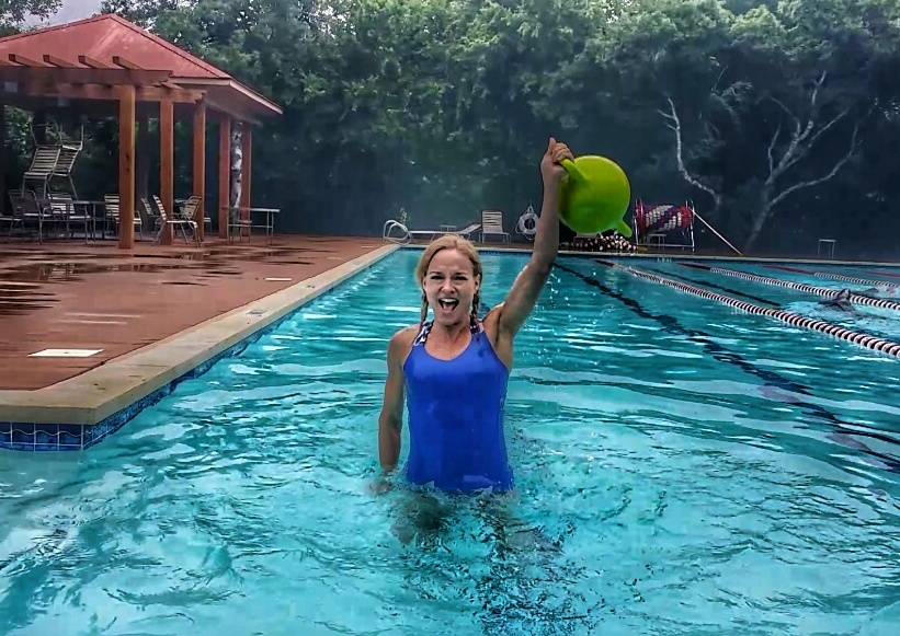 Hydro Power Pool Workout with Kamagon Ball - Hedstrom Fitness