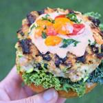 Gluten Free Salmon Zucchini Quinoa Burgers