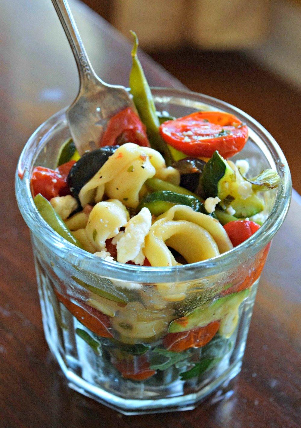 Niçoise Tortellini Salad