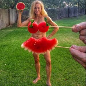 Jennifer Fisher thefitfork.com watermelon dress