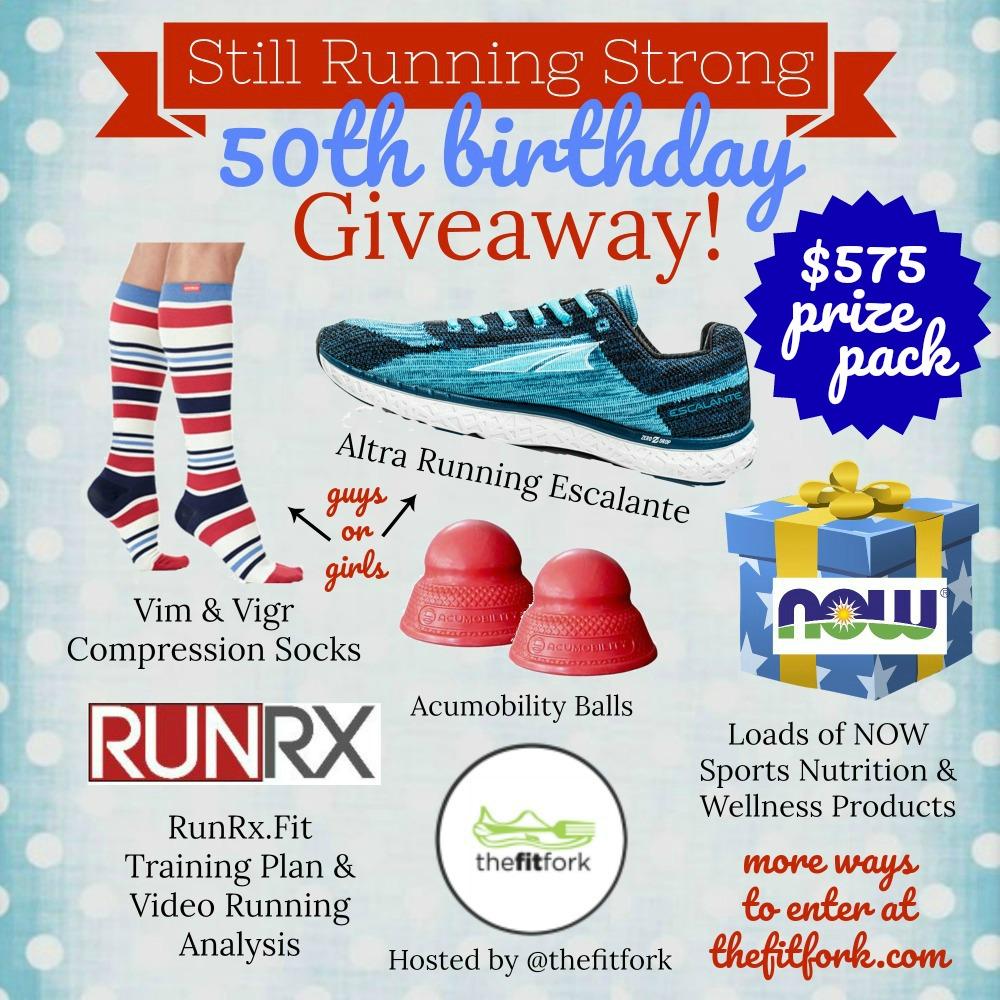Still Running Strong Giveaway - thefitfork.com