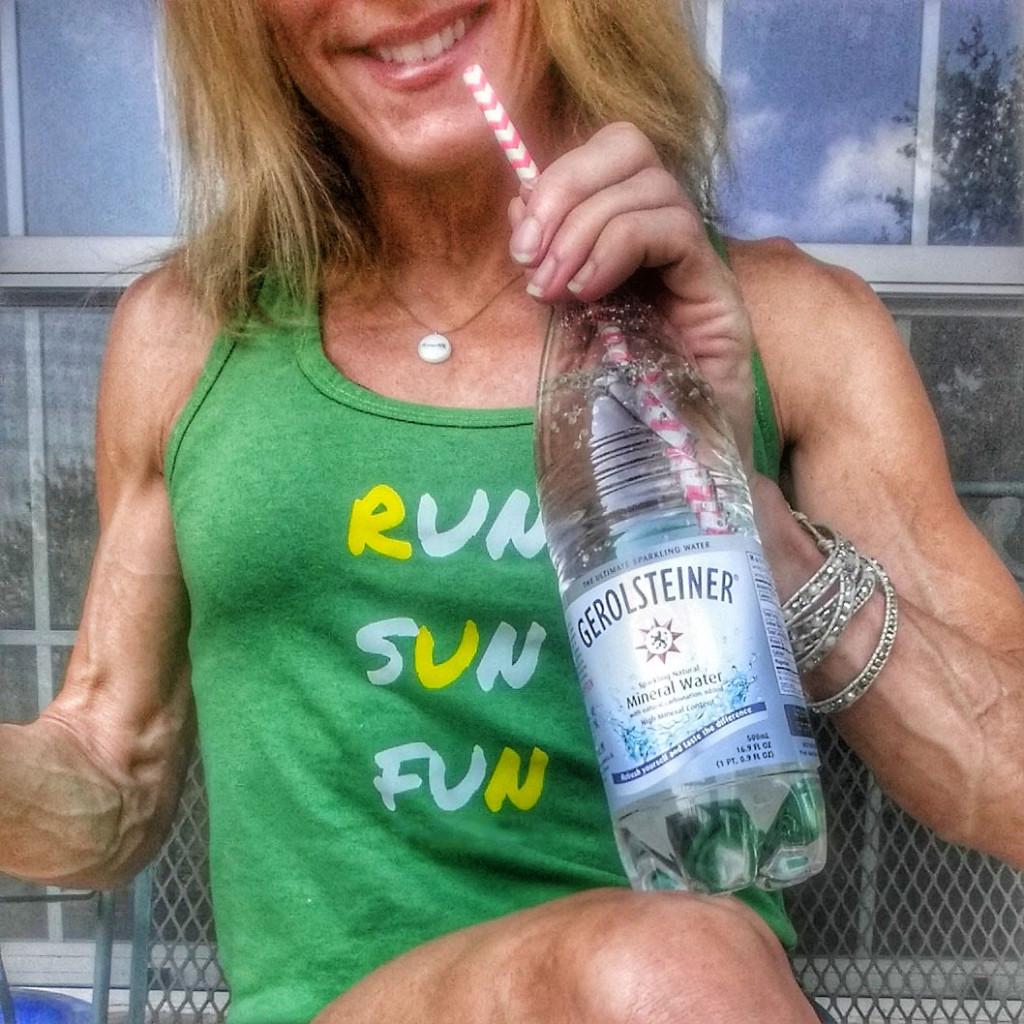 Gerolsteiner Sparkling Mineral Water thefitfork.com
