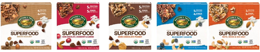 Nature's Path Superfood Bars