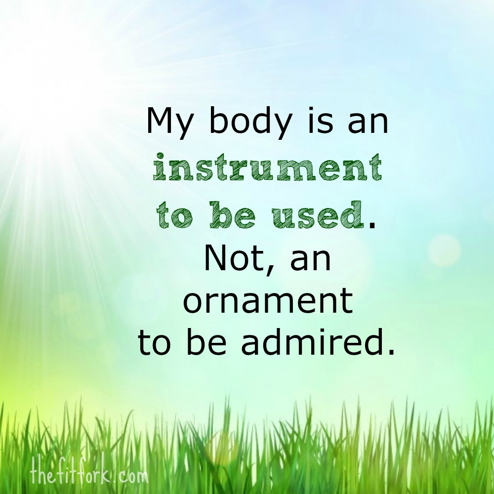 my body is a instrument