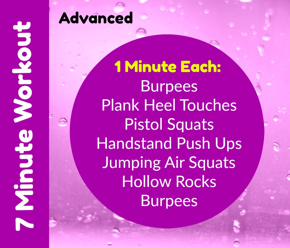 7 Minute Home Workout Advanced