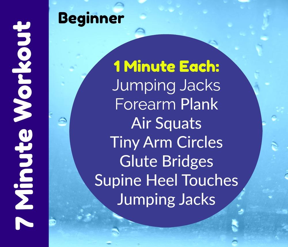 7 Minute Home Workout Beginner
