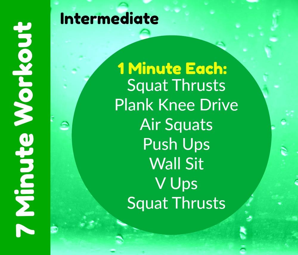 7 Minute Home Workout Intermediate
