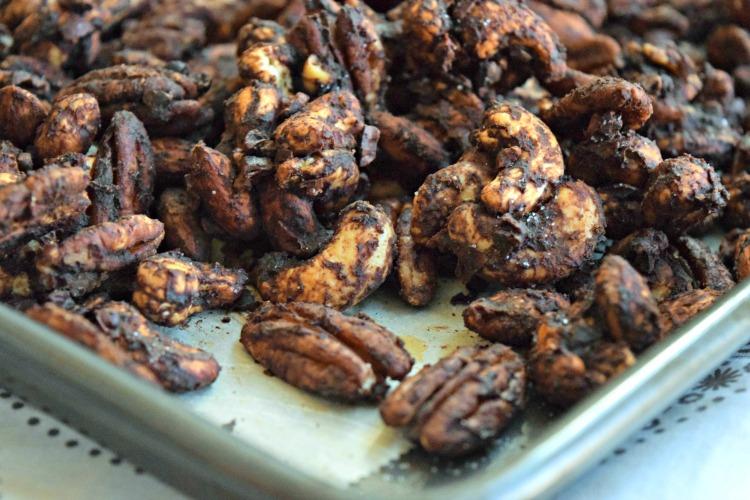 Cocoa Chai Spiced Nuts