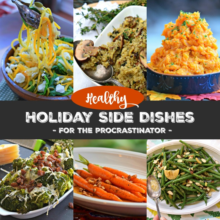 Holiday Side Dishes for the Procrastinator