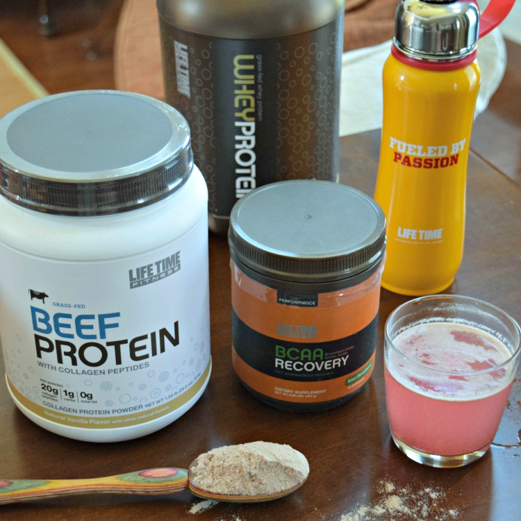 Life Time nutrition products