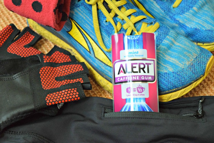 Alert Caffeine Gum is a great substitute for your morning coffee when running late to a workout