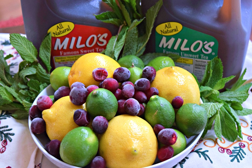 Milo's Tea -- famous sweet and unsweet tea