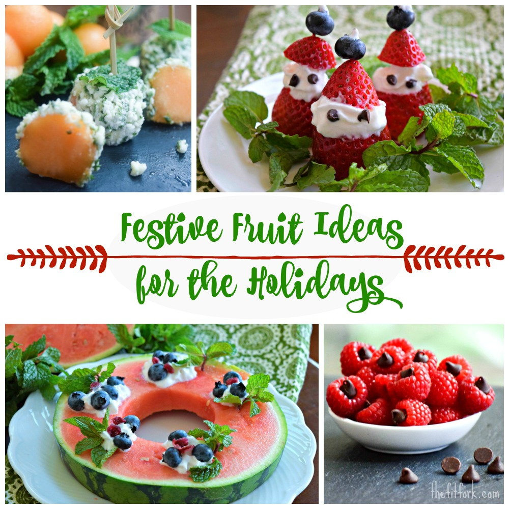 Festive Fruit Ideas for the Holidays