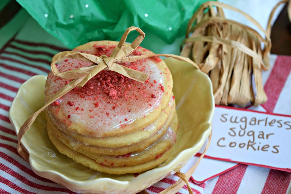 Sugarless Sugar Cookies