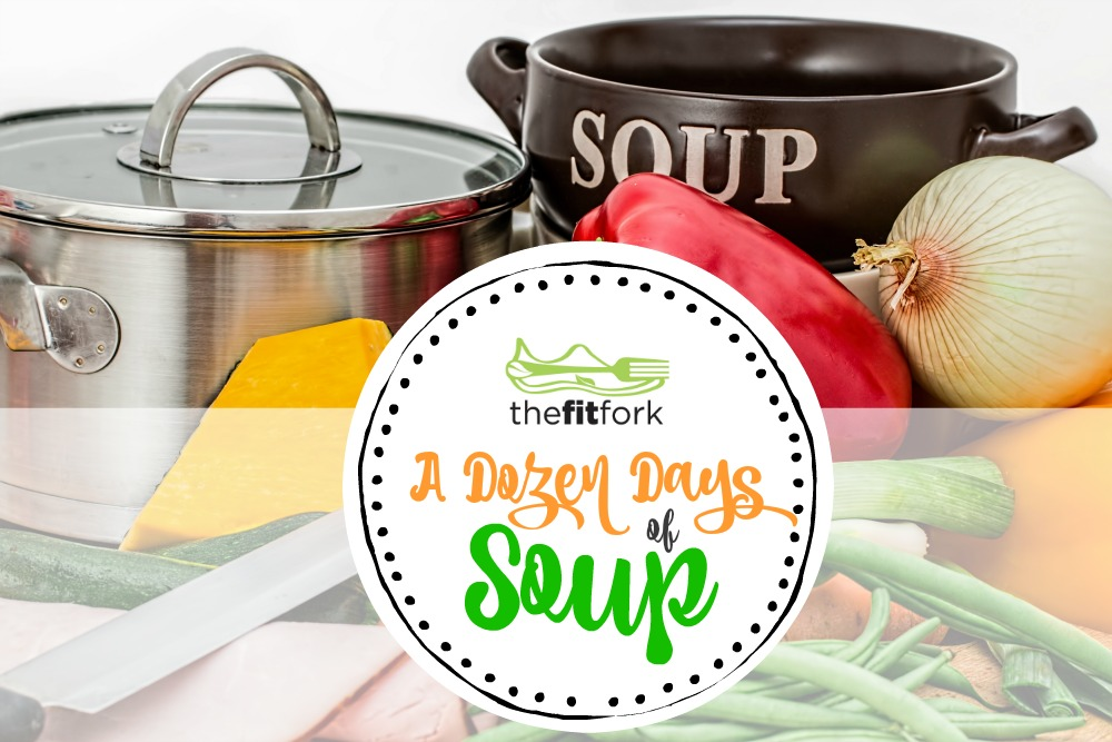 A Dozen Days of Soup - including all sorts of dietary options including paleo, gluten-free, dairy-free, sugar-free, vegan, vegetarian and more.