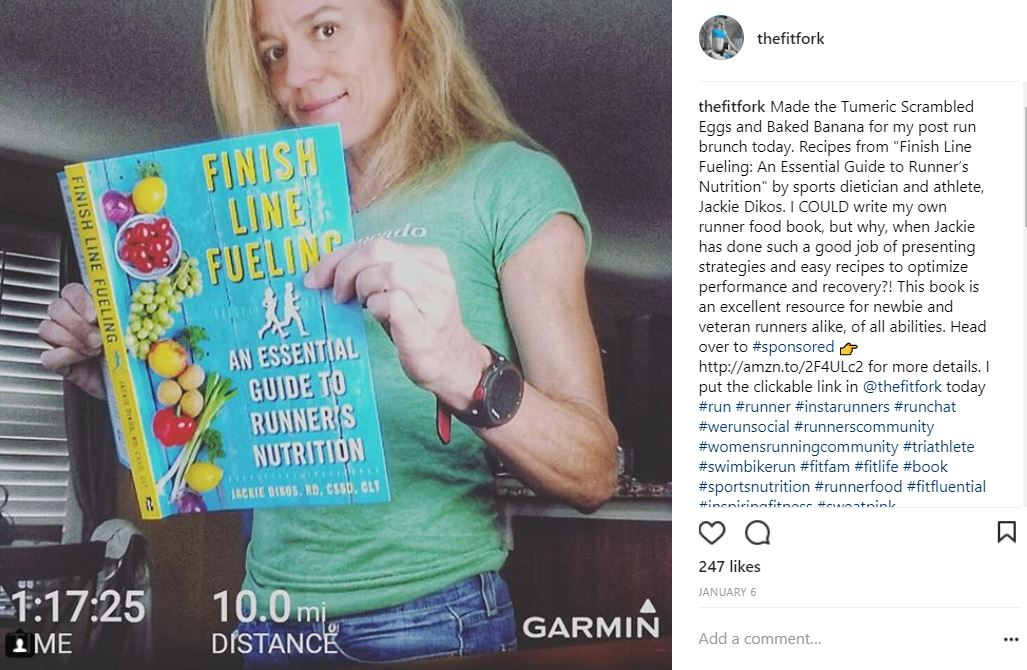 Finish Line Fueling Cookbook for Runners