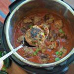 Beef Enchilada Instant Pot Meatballs