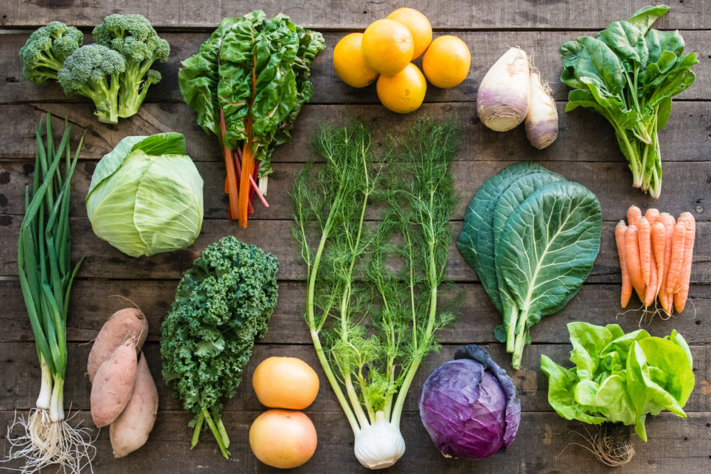 Farmhouse Delivery Produce Box  contents