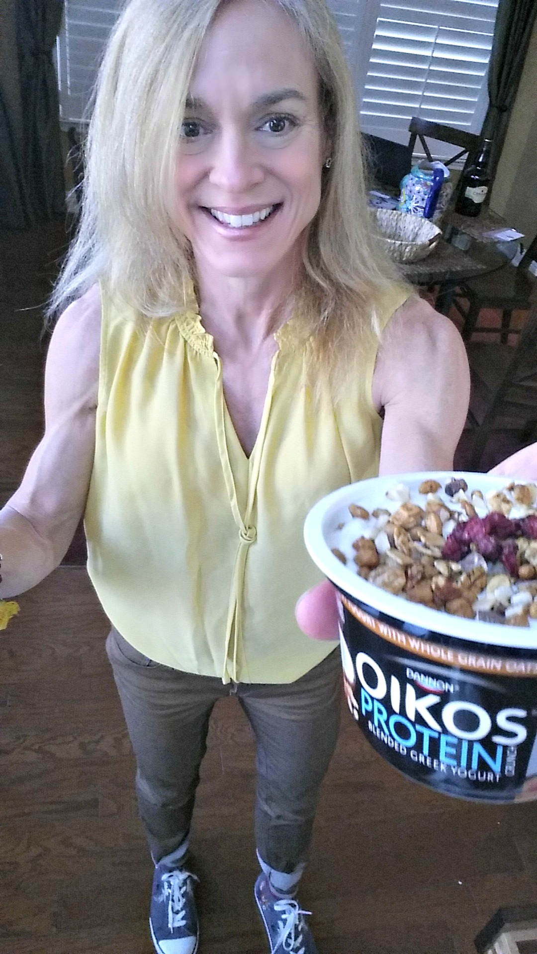 the fit fork dannon okios crunch