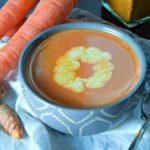 Turmeric Carrot Tomato Soup