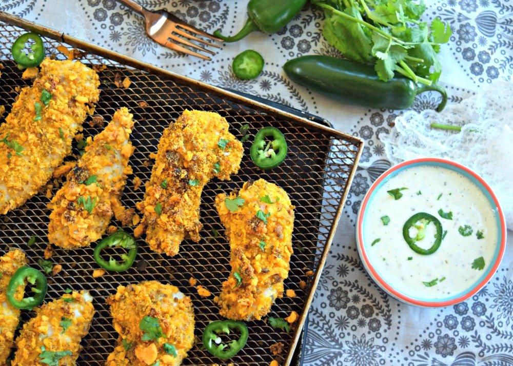 Jalapeno Cheddar Chicken Tenders