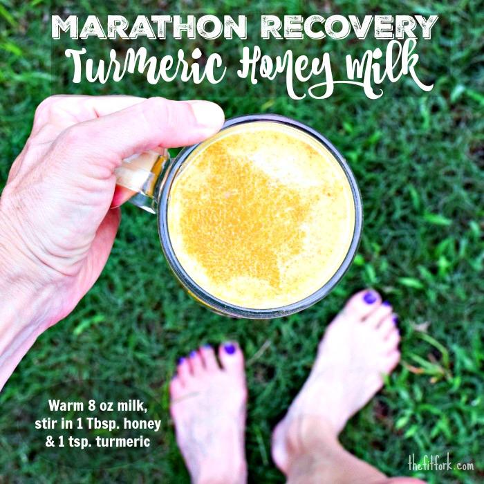 Marathon Recovery Turmeric Honey MilkMarathon Recovery Turmeric Honey Milk