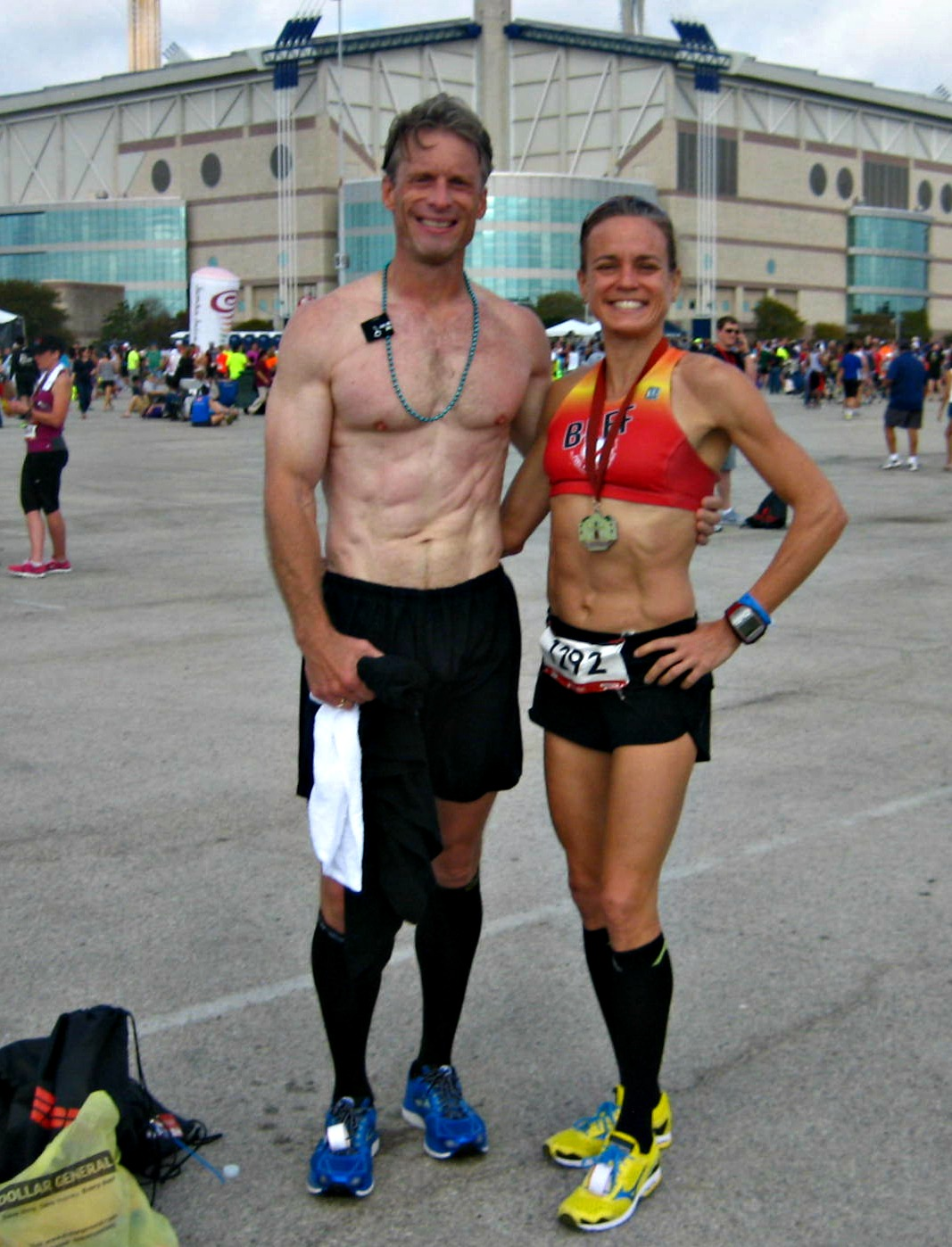 Airline Milf san antonio r&r half marathon recap and fitmark bag review