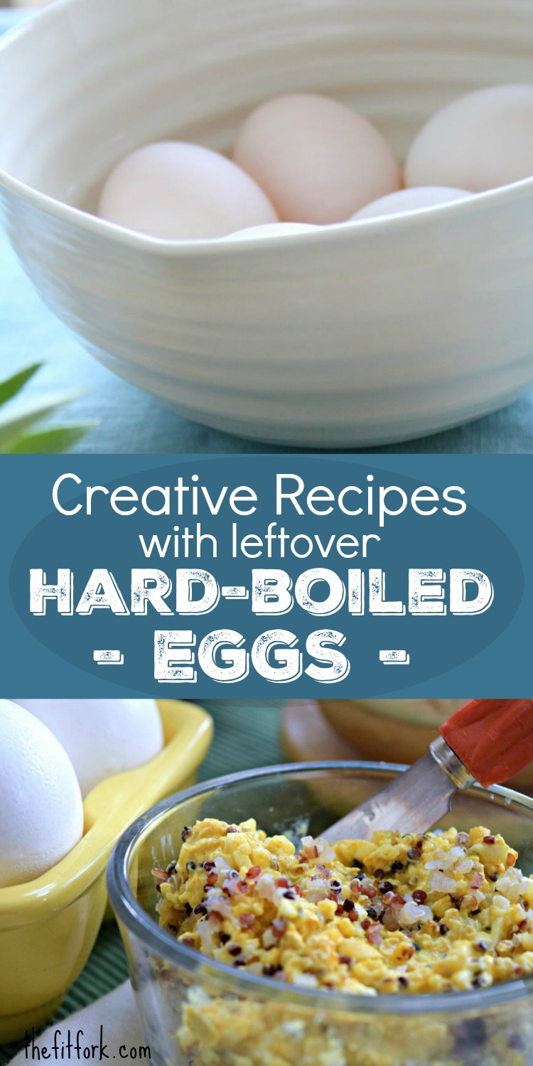 Creative Recipes with leftover Hard-Boiled Eggs - discover quick and easy ways to put together a quick lunch, dinner or snack with meal prepped eggs.