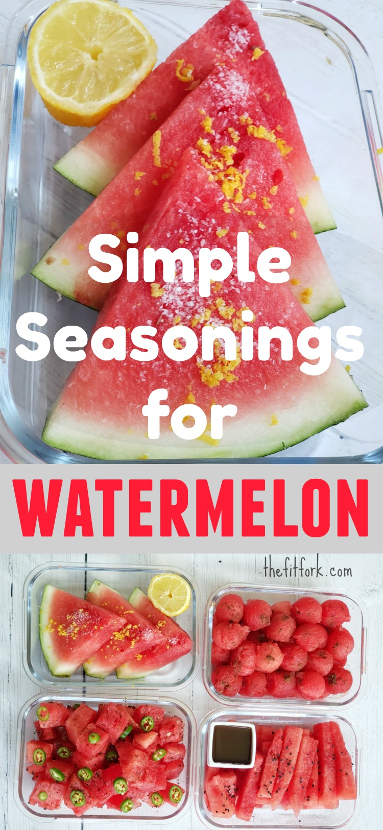 Try one or all of these simple spices, seasonings and other flavor-boosters to transform plain watermelon into a tasty, unexpected treat.
